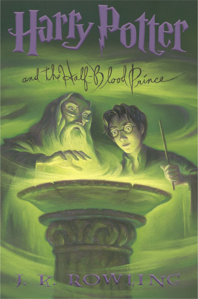Harry Potter and the Half-Blood Prince (US cover)