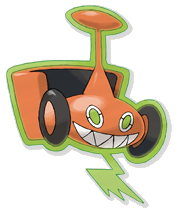 Lawnmower!Rotom