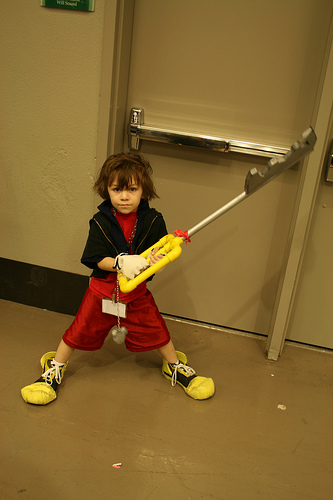This is about how old Sora acts. (Photographer: tofuguns@flickr)